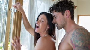 India Summer and Ryan Driller in Marriage 2.0. Image courtesy Adam & Eve.