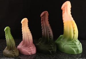 sex toys Pretzal the Sand Wyrm from Bad Dragon Lynsey G