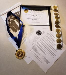 independent book publishers award gold medal package