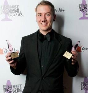 James Darling at the Feminist P0rn Awards Lynsey G
