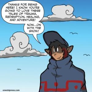 lynsey g opca #08 pj the villain intro panel
