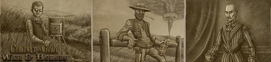 character killin folk banner children of gaia war and horses lynsey g