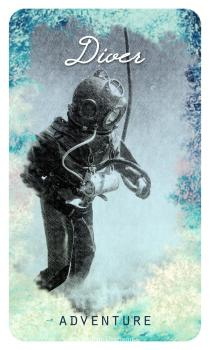 Diver – The Ocean Oracle by Lyn Thurman