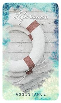 Lifesaver - The Ocean Oracle by Lyn Thurman