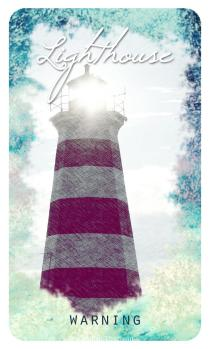 Lighthouse – The Ocean Oracle by Lyn Thurman