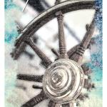 Ship's Wheel - The Ocean Oracle by Lyn Thurman
