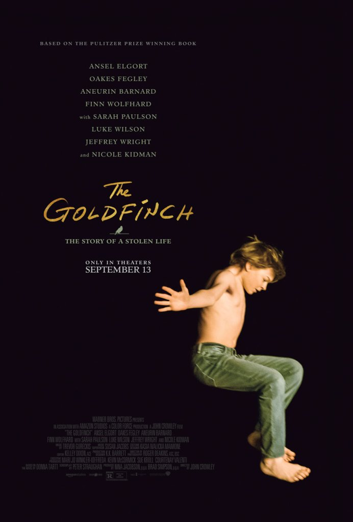 The Goldfinch: From a Pulitzer Prize Winning Novel, with an Esteemed Director, Cast and Crew