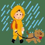 雨の日の犬の散歩どうする?ストレスは?室内での発散方法?