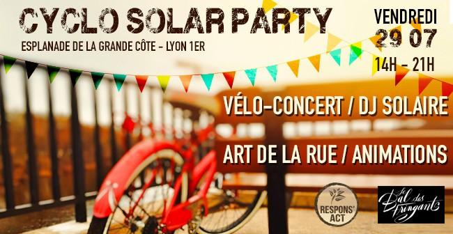 Cyclo-solar-party