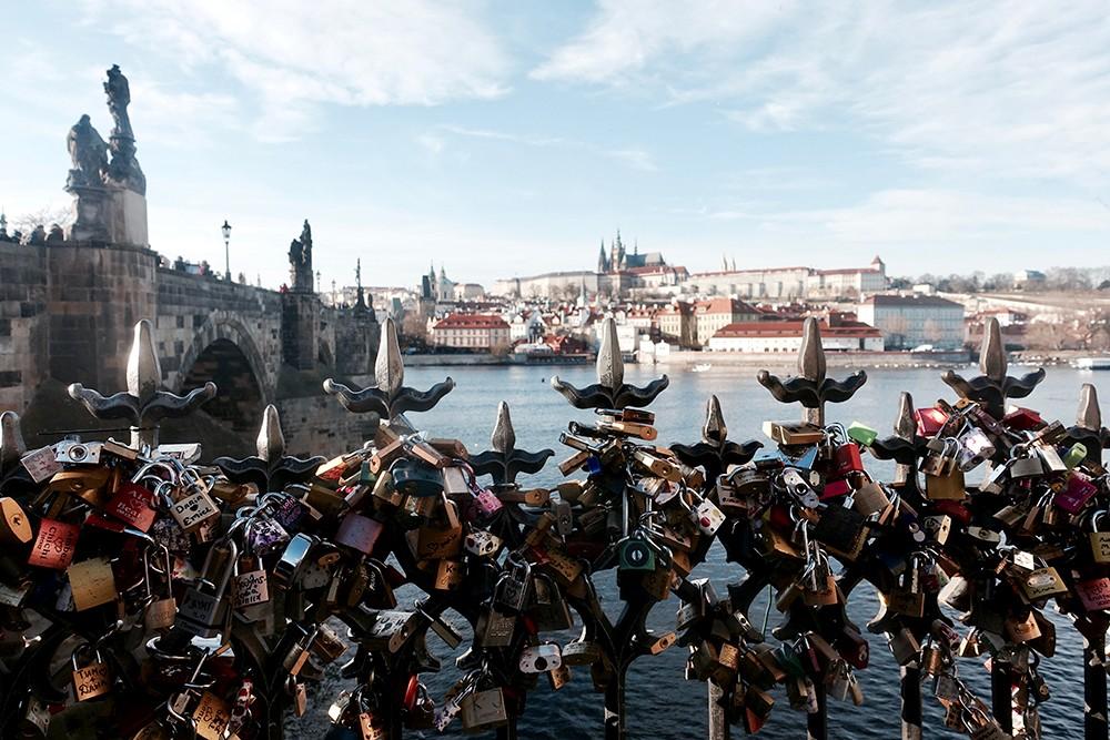 Pont Saint Charles Prague