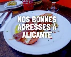 Bon resto à Alicante