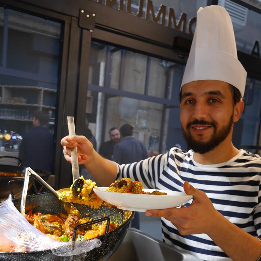 cuisine méditerranéenne Lyon la commune