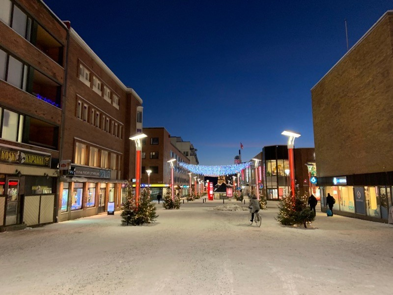 Street Of Rovaniemi