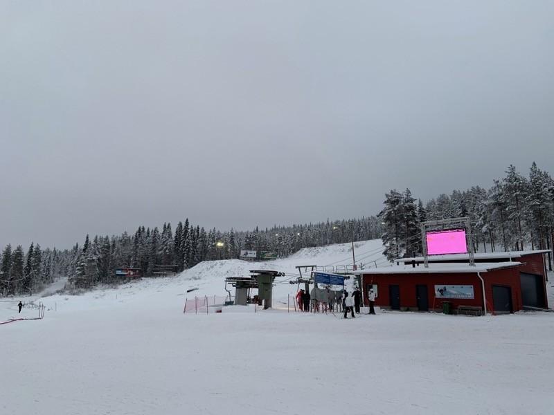 Ski en Laponie