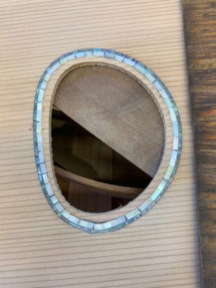 CG-2 mother of pearl and abalone rosette complete