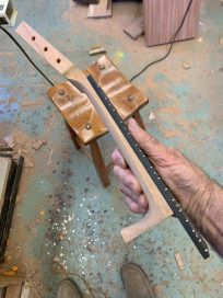 CG-2 neck with fret board