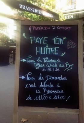Paye ton huître