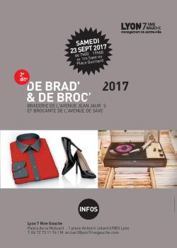 Inscription brocante samedi 17 sept 2017