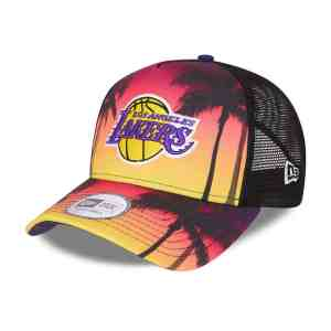 CASQUETTE TRUCKER SUMMER CITY LOS ANGELES LAKERS
