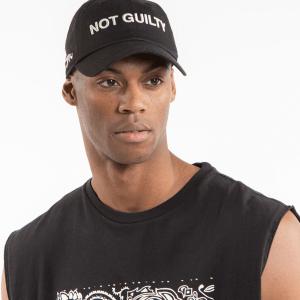 CASQUETTE DEFEND PARIS GUILTY CAP-BLACK