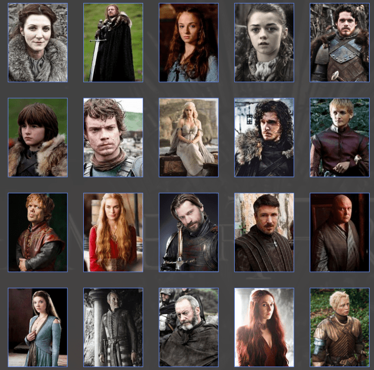 personnages_game_of_thrones