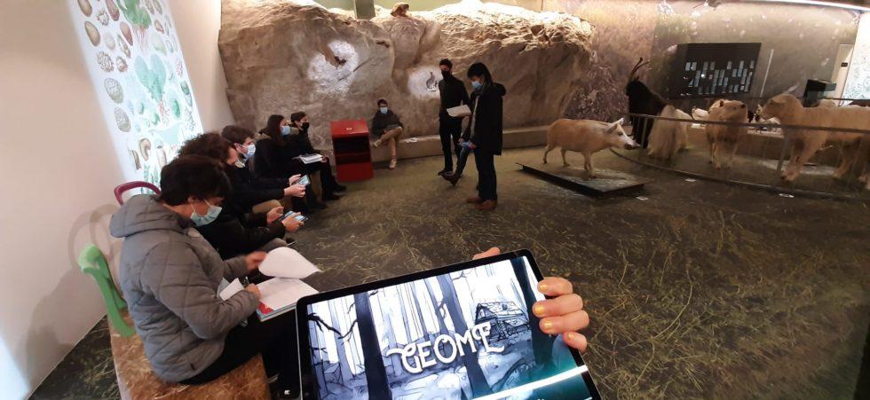 Un musée, une enquête, des fake news pour initier à l'Anthropocène