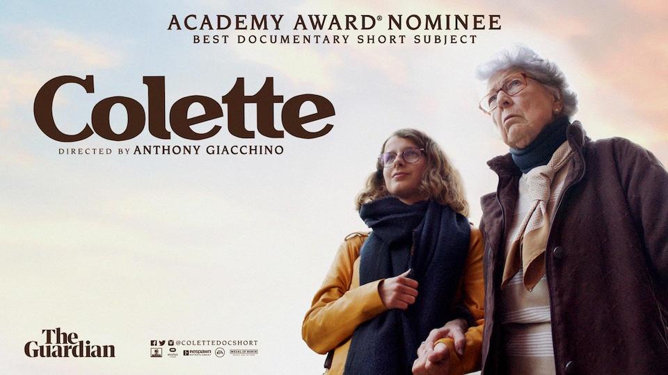 Colette:A 90 ans, une ancienne Résistante française raconte le combat contre le fascisme – Oscars 2021