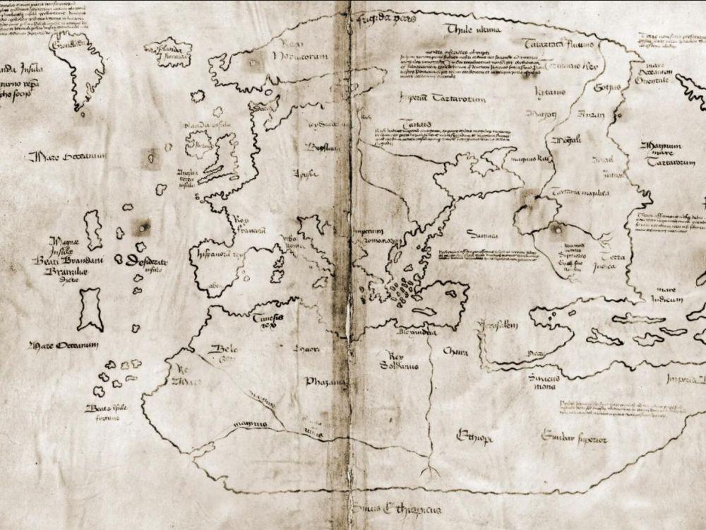 La carte du Vinland, prétendument datée du XVe siècle est un faux