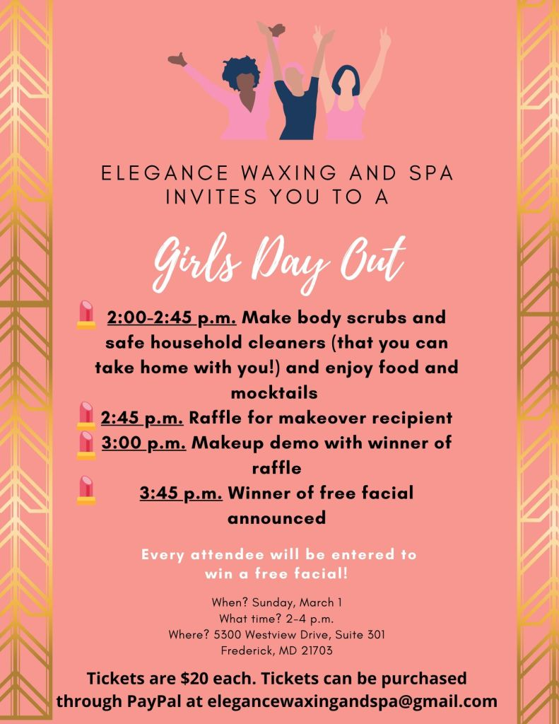 Enjoy mocktails and makeovers with Emily Henderson of Elegance Waxing and Spa!