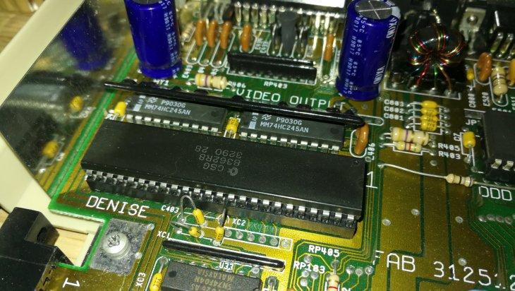 Amiga 500 Super Denise Upgrade