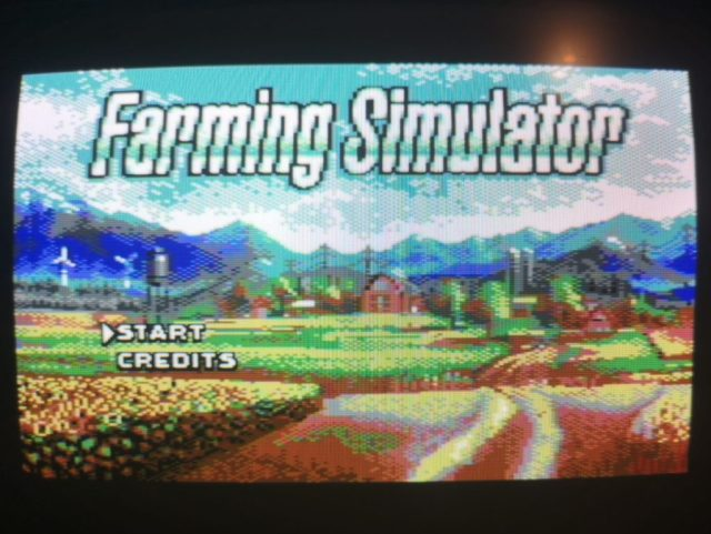 Farming Simulator C64 Edition
