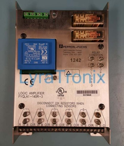 Pepperl+Fuchs FYQLA1-140R-3 repair