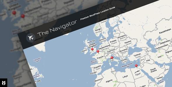 The Navigator: Premium WP Location Guide + Blog