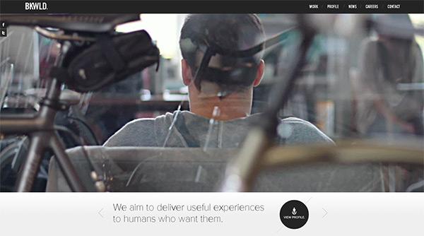 BKWLD in 50 Creative Full Screen Video Background Websites