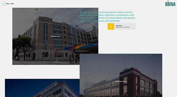Siena in 45 Modern Minimal Websites