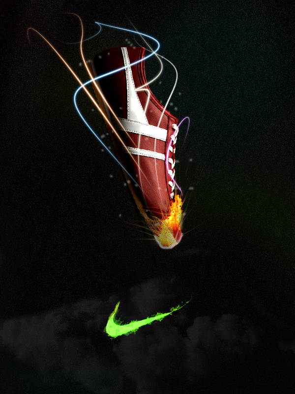 Burning Motivation by Eric Simone in Showcase of Creative Nike Advertisements