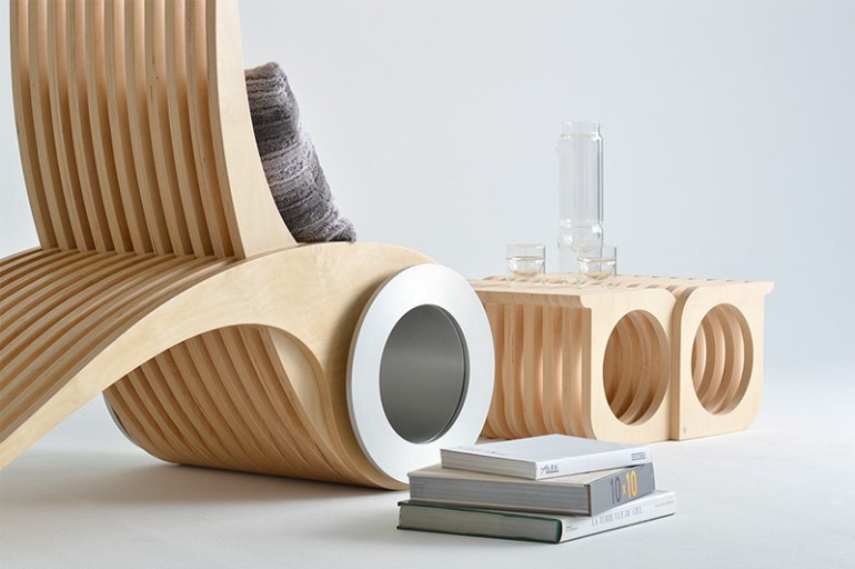 EXOCET Chair by Stephane Leathead in Showcase of Creative Furniture Designs