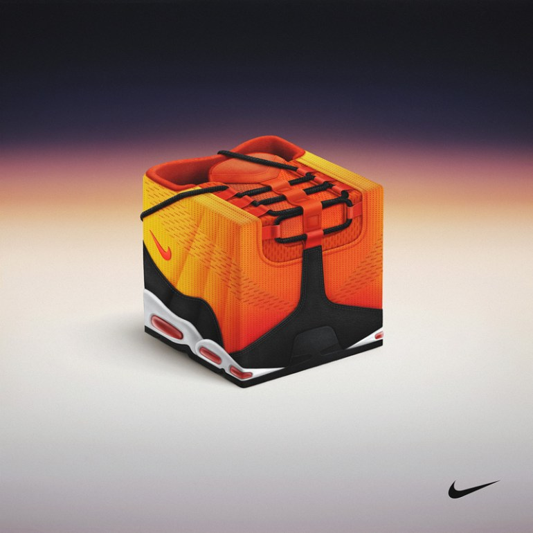 Sneakercube x Nike - Air Max Sunset Pack by Pawel Nolbert in Showcase of Creative Nike Advertisements