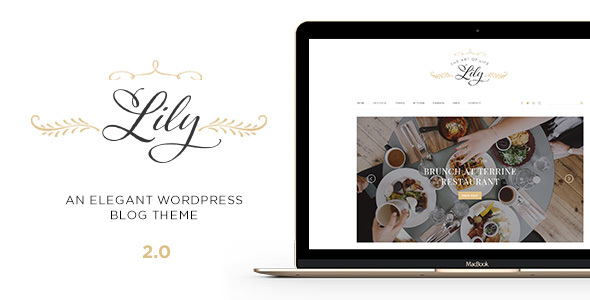 Lily - An Elegant WordPress Blog Theme