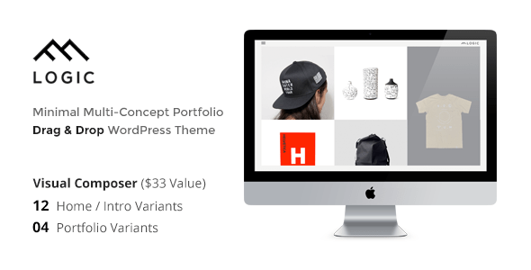 LOGIC - Minimal Multi-Concept Portfolio WP Theme