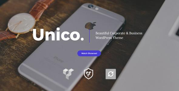 Unico - Creative & Business WordPress Theme