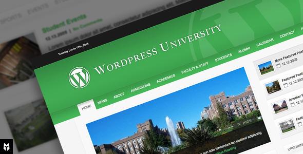 University: WordPress Theme For Colleges