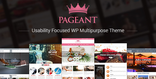 Pageant - Responsive Multipurpose Theme