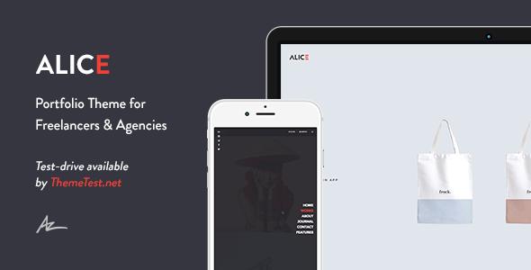 Alice - Agency & Freelance Portfolio Theme