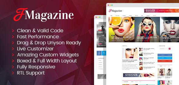 TrueMag - multipurpose magazine WordPress theme