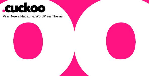 Cuckoo: Viral, News, Magazine WordPress Theme
