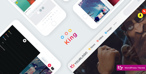 King - Viral Magazine WordPress Theme
