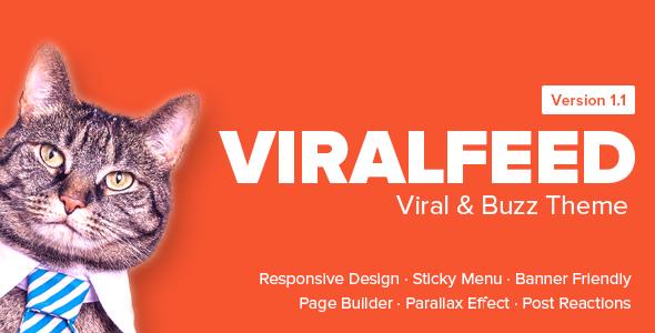 ViralFeed - Viral & Buzz WordPress Theme
