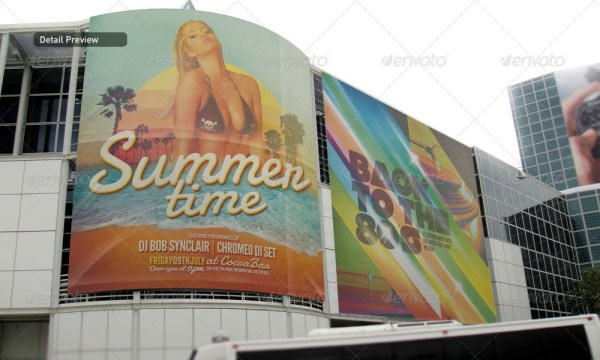 Banner & Poster Mockup