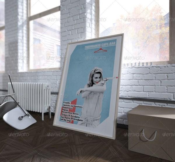 Poster Mock-up ART STUDIO